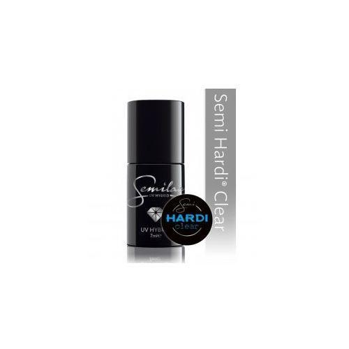 Semilac Semi Hardi Clear, lakier hybrydowy budujący, 7ml - produkt z kategorii- Lakiery do paznokci