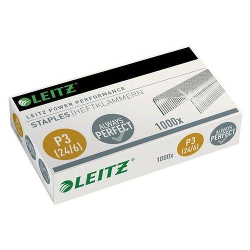 Zszywki 24/6 p3 power performance (1000 szt.) marki Leitz