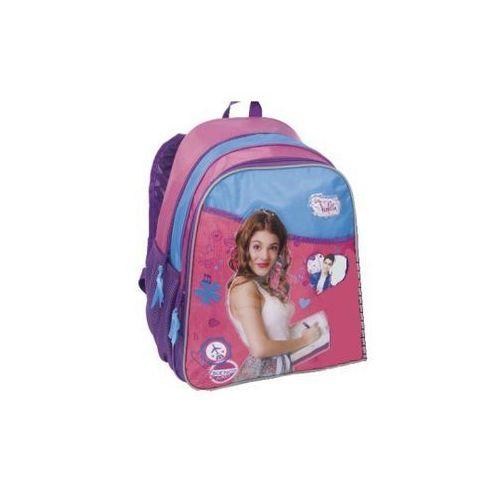 Paso, Plecak szkolny dwukomorowy, Violetta, kolor fioletowy