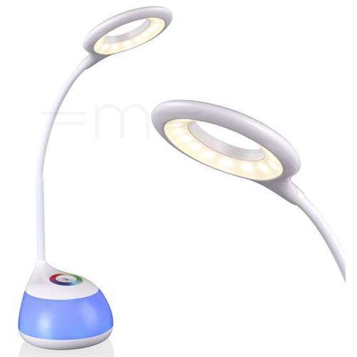 Stojąca LAMPKA biurkowa GALACTIC 311191 Polux nocna LAMPA sypialniana LED RBG 8W regulowana biała (5901508311191)