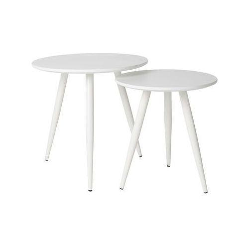Orange line stolik daven zestaw biały 2300071 2300071