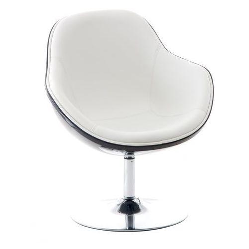 0361 fotel obrotowy pezzo bialo-czarny marki D2
