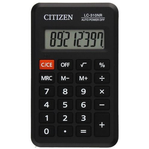 Citizen Kalkulator kiszonkowy lc310nr czarny