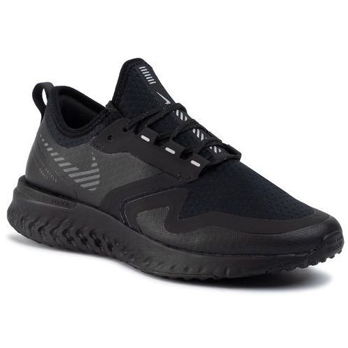 Buty - buty nike odyssey react shield 2 bq1672 001 black/black/metallic silver, Nike, 36.5-38