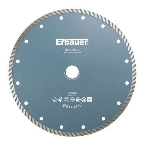 Tarcza diamentowa Erbauer turbo 230 mm, DAB42193
