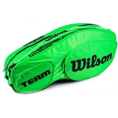 Wilson Team III 6Pack Bag Green Black