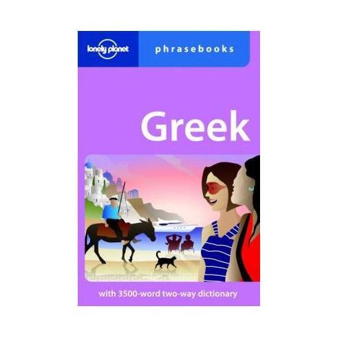 Rozmówki Greckie - Lonely Planet Greek Phrasebook (9781741047080)
