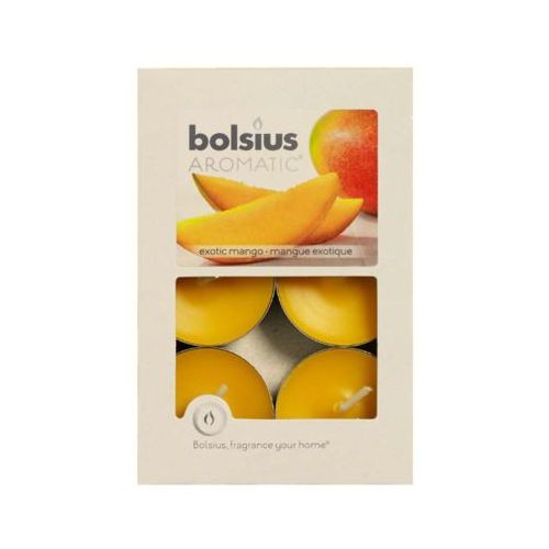 Bolsius podgrzewacz zapachowy mango 6 sztuk