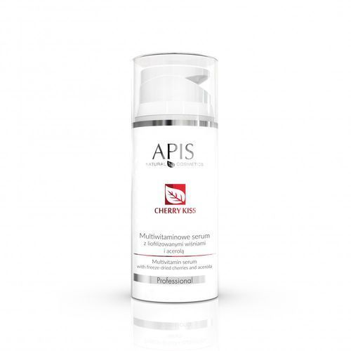 Apis professional Apis cherry kiss multiwitaminowe serum z liofilizowanymi wiśniami i acerolą 100ml