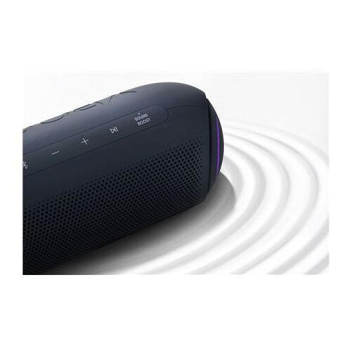 Lg portable bluetooth speaker pl7 waterproof bluetooth wireless connection black