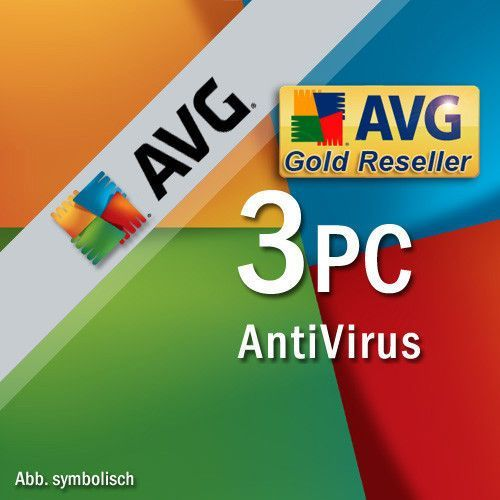 AVG Antivirus PL 2018 3 PC/ 2 Lata (0814949017766)