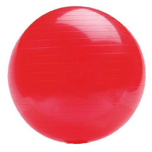 classic 65 czerwona - piłka fitness - czerwony marki Platinium