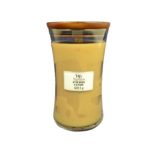 Woodwick świeca zapachowa At The Beach 609,5 g duża, WW-4599