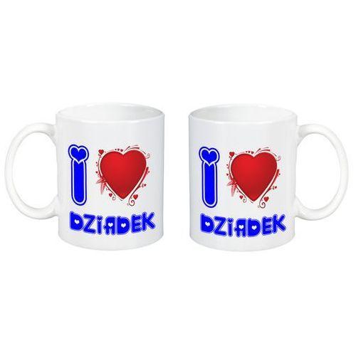 Kubek z Nadrukiem Dzień Babci I Love Dziadek Serce - DB24