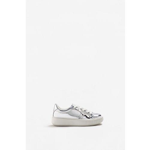 - buty dziecięce silver marki Mango kids