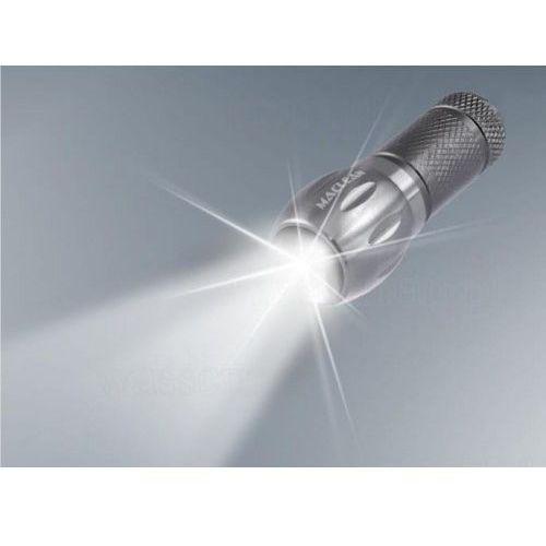 Maclean Brelok, latarka aluminiowa led