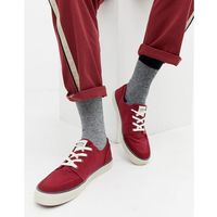 stevens canvas trainer red - red marki Levi's