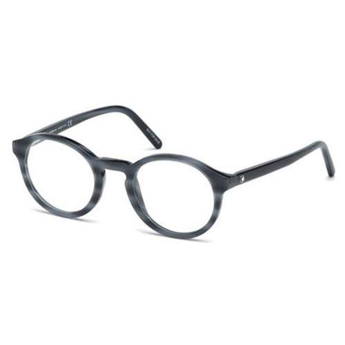Okulary korekcyjne mb0673 090 marki Mont blanc
