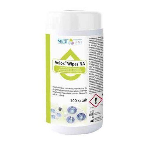 Velox Wipes NA - bezalkoholowe chusteczki do dezynfekcji powierzchni BOX 100szt.