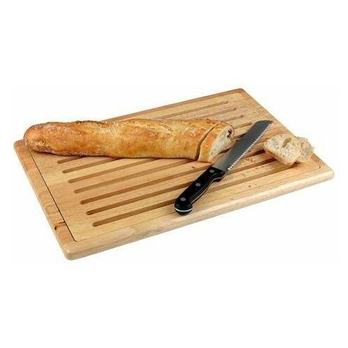 Drewniana deska do krojenia chleba | 530x325x2 mm