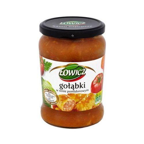 ŁOWICZ 580g Gołąbki w sosie pomidorowym