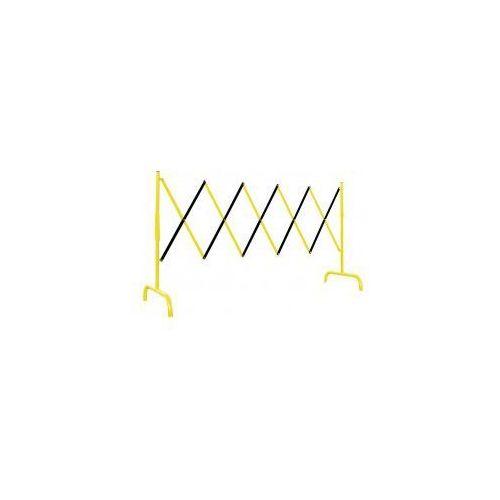 Barierka składana nożycowa żółto-czarna, 100105