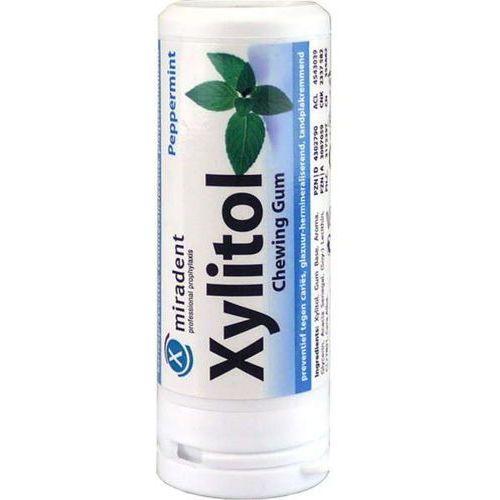 Xylitol guma do żucia peppermint (mięta pieprzowa) x 30 sztuk marki Miradent
