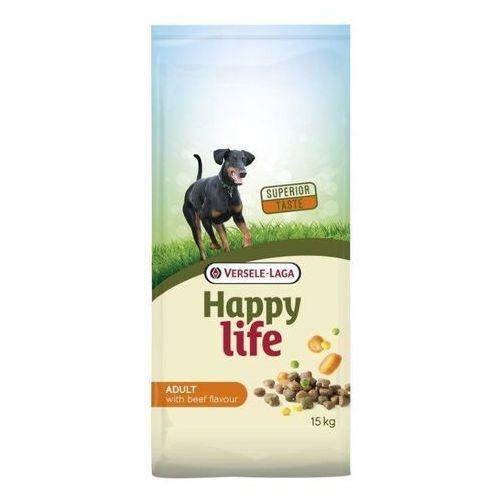 VERSELE-LAGA Happy Life Adult Beef 15kg | Darmowa dostawa - 15000, VL-431041