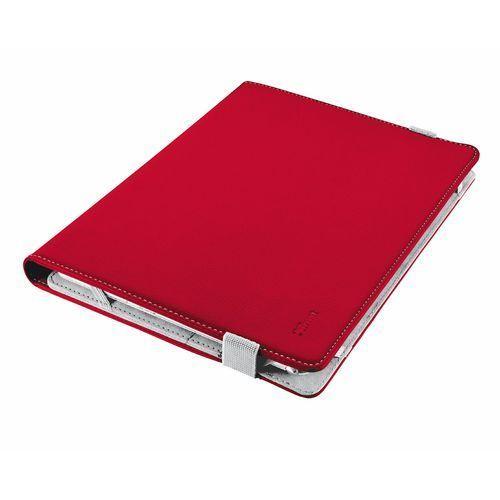 Etui TRUST Verso Universal Folio Stand na Tablet 7-8 cali Czerwony, kolor czerwony