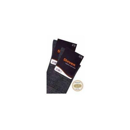 Skarpetki garniturowe z merynosów marki Steven