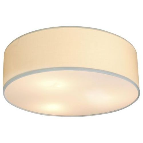 Plafon LAMPA sufitowa KIOTO 31-64714 Candellux abażurowa OPRAWA okrągła kremowa, kolor szary;kremowy