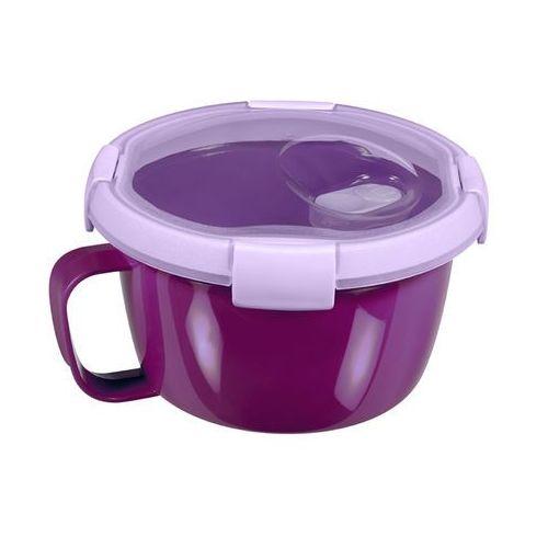Pojemnik na zupę (0,9 l) smart to go  (fioletowy) marki Curver