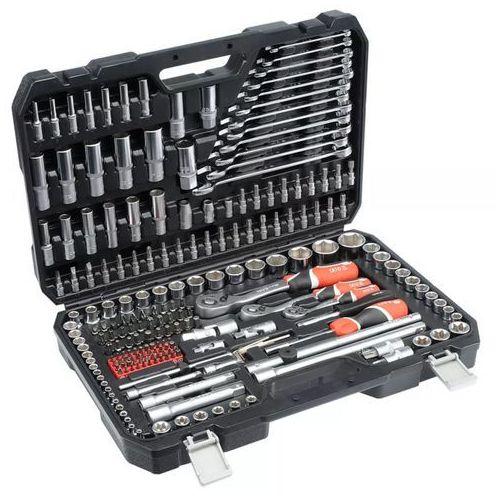 """zestaw narzędziowy (1/4"""" 1/2"""" 3/8"""") - 216 elementów (yt-38841) marki Yato"""