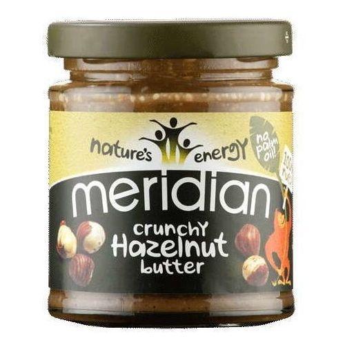Meridian foods Chrupiące masło z orzechów laskowych 170g
