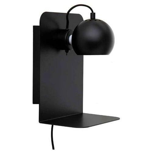 Frandsen Ball-kinkiet ścienny nastawny z półką wys.30cm