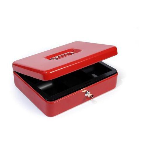Kasetka metalowa na pieniądze HF-M300A Argo, czerwona - Rabaty - Porady - Hurt - Negocjacja cen - Autoryzowana dystrybucja - Szybka dostawa