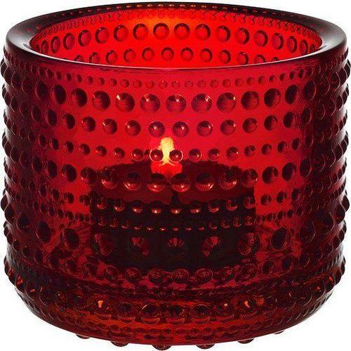 Świecznik Kastehelmi red