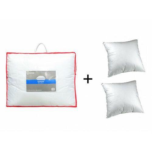 Dreamea Zestaw 2 poduszki 60 x 60 cm + kołdra 220 x 240 cm sweet dreams