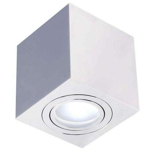 Orlicki design Spot lampa sufitowa lago cromo ip44 metalowa oprawa kostka cube chrom (1000000281286)