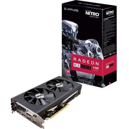 OKAZJA - Karta graficzna Sapphire Radeon RX 480 Nitro+ 4GB GDDR5 (256 Bit) DVI-D, 2xHDMI, 2xDP, BOX (11260-02-20G) Darmowy odbiór w 19 miastach!