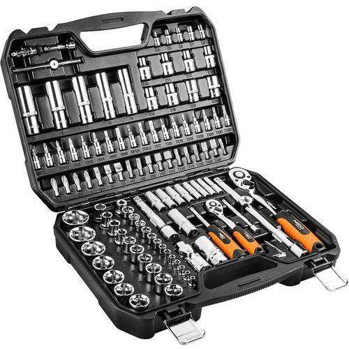 Neo Zestaw kluczy nasadowych 08-666 1/2 i 1/4 cala (110 elementów) + darmowy transport!