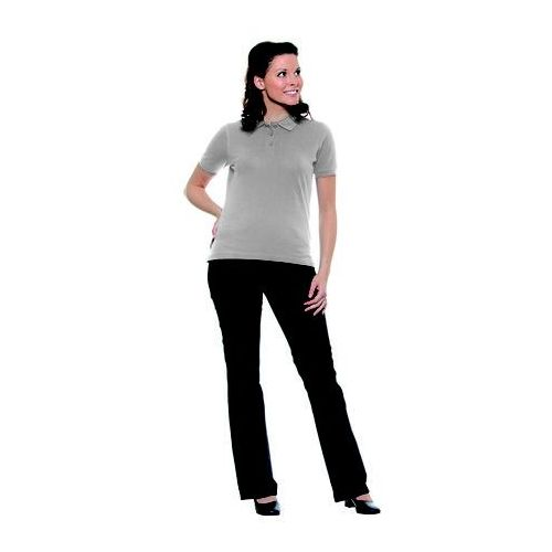 Karlowsky Koszulka damska typu polo, rozmiar xl, jasnoszara | , basic