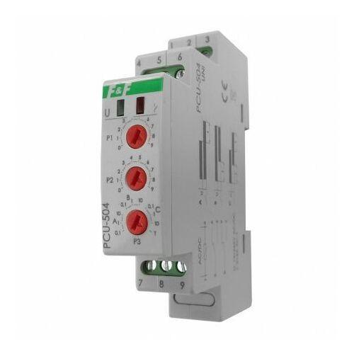 Przekaźnik czasowy uniwersalny PCU-504 UNI 12-264V AC/DC