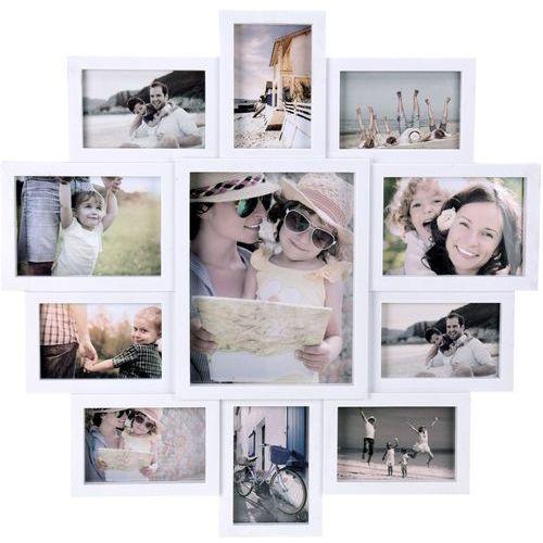 Home styling collection Ramka na 11 zdjęć, zdjęcia - multirama 61 x 61 x 2 cm