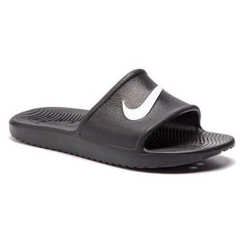b095110a4 Klapki - kawa shower (gs/ps) bq6831 001 black/white marki Nike