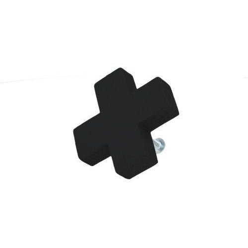 Gałka do mebli plusik drewniany czarny marki Home-idea