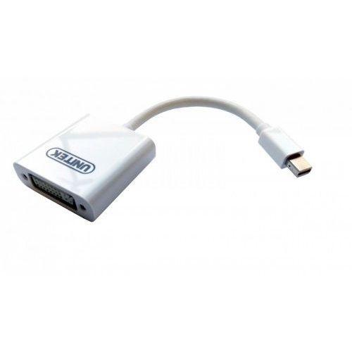 Unitek Adapter miniDisplayPort to DVI; Y-6326WH (4894160009609)