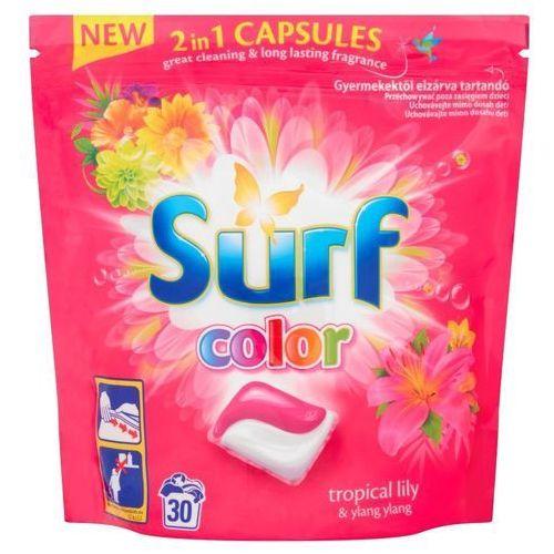 Kapsułki do prania Surf Color Tropical Lily & Ylang Ylang (30 sztuk), 8710447192191