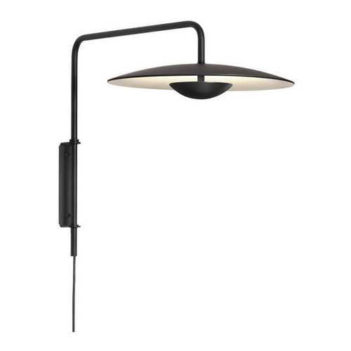 Marset Ginger - applique murale led noir l39cm-