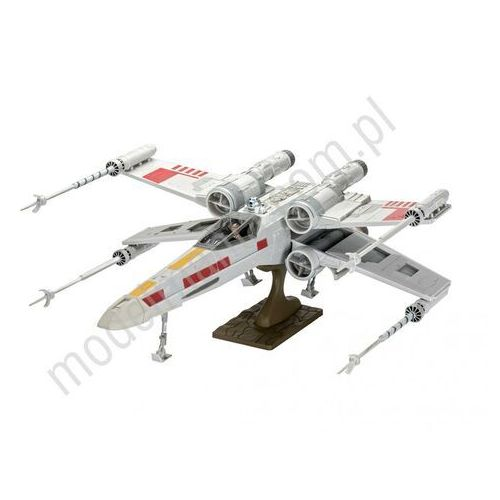 Model plastikowy star wars x-wing fighter easy-click marki Revell